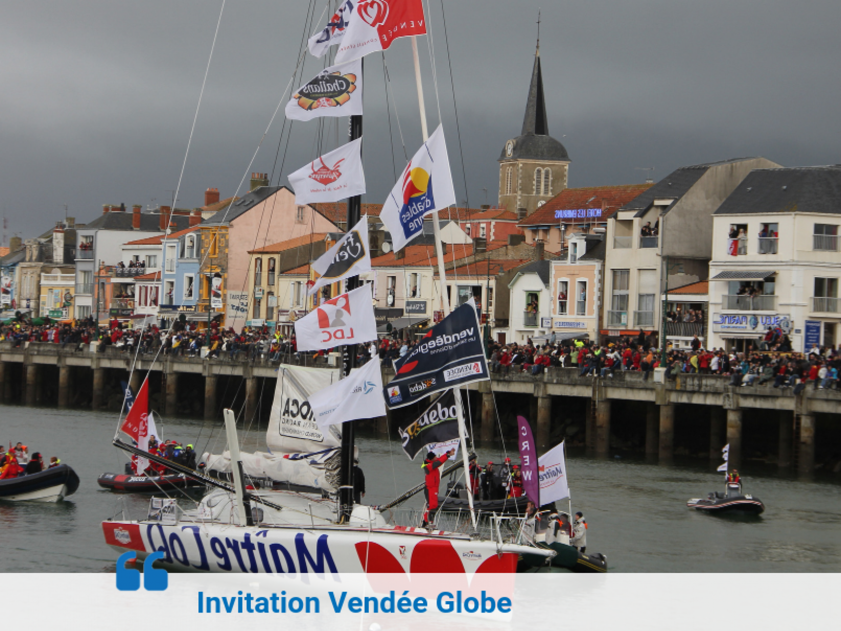 Invitation Vendée Globe
